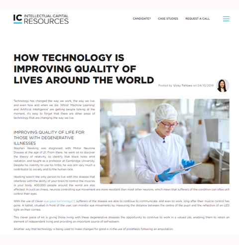 IC resources technology blog